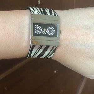 Dolce&Gabbana zebra print watch